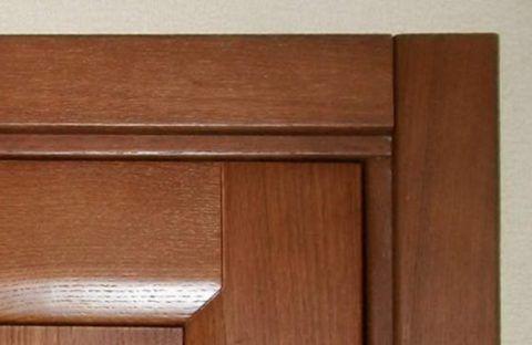 МДФ двери часто продаются с наличником в комплекте