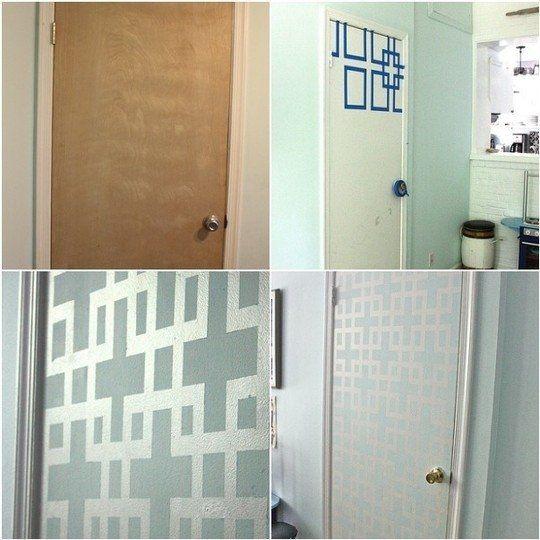 межкомнатные двери как обновить