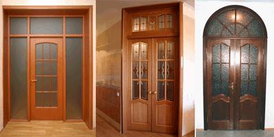 Межкомнатные двери с фрамугами