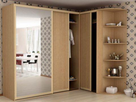 Многофункциональный Г-образный шкаф