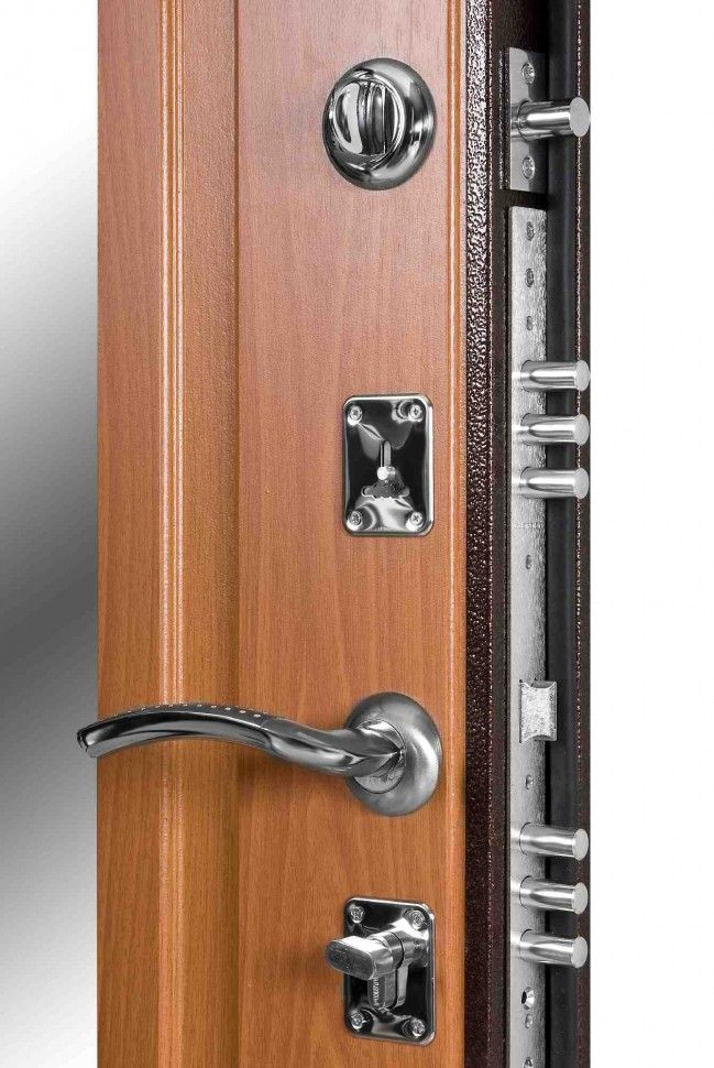 Монтаж сейф дверей с несколькими замками