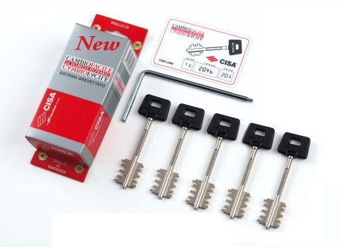 Набор ключей для перекодировки замка