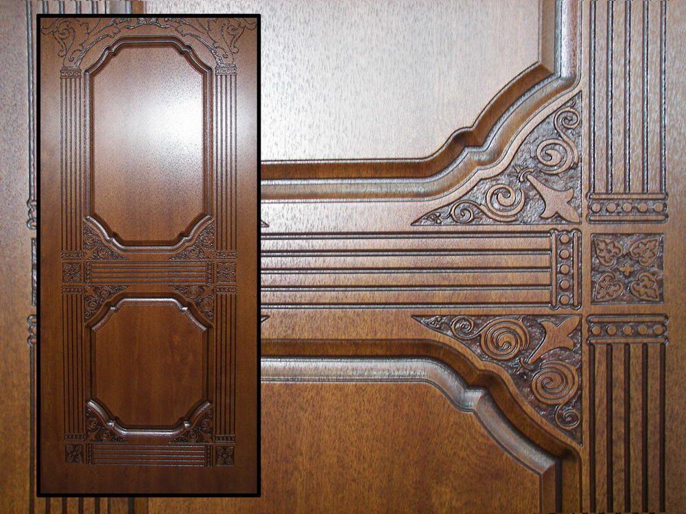 Накладка на дверь декоративная в фабричном исполнении