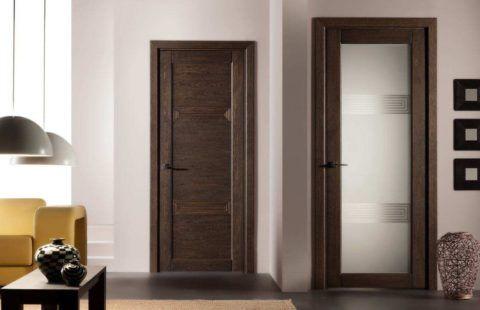 Наличник придает дверной конструкции законченный вид