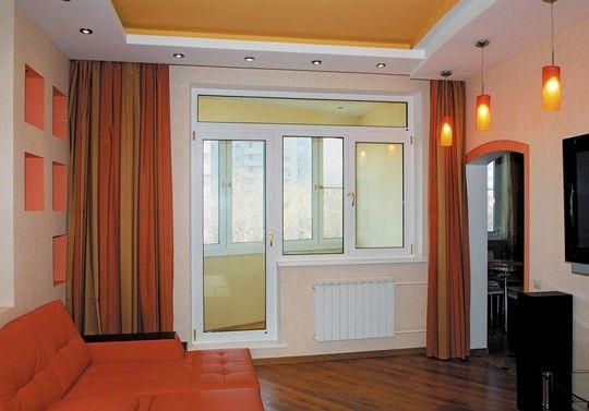 Пластиковые балконные двери и окна