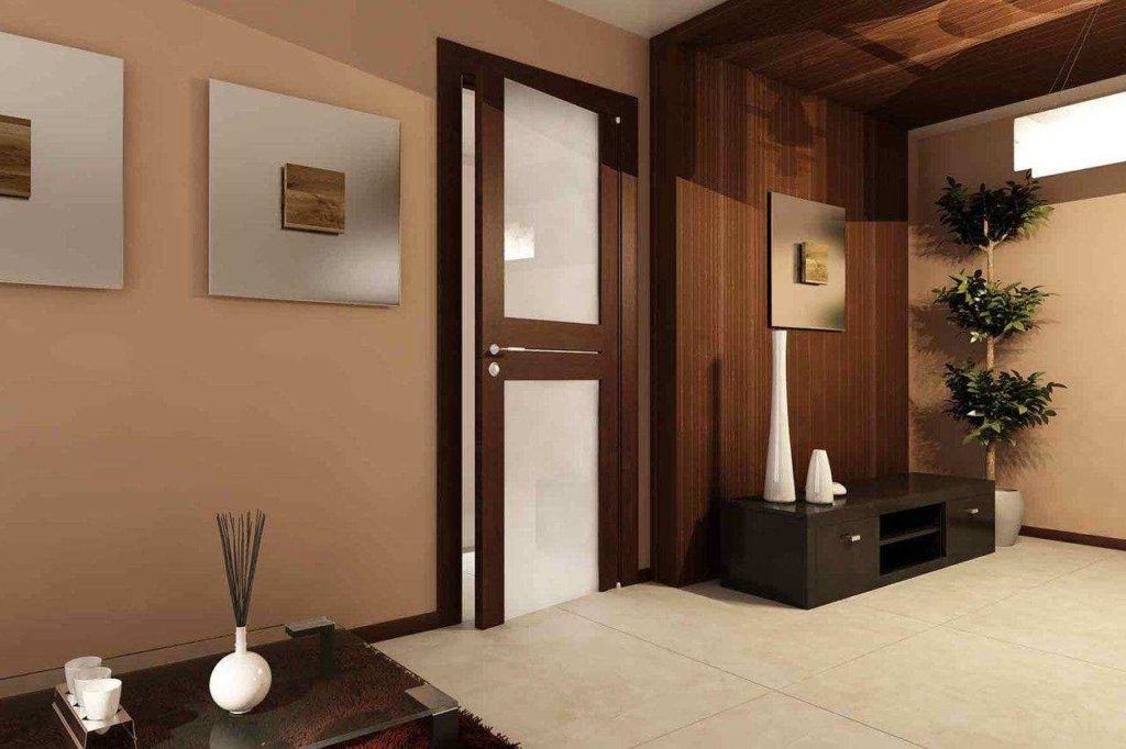 Остекленный дверной блок