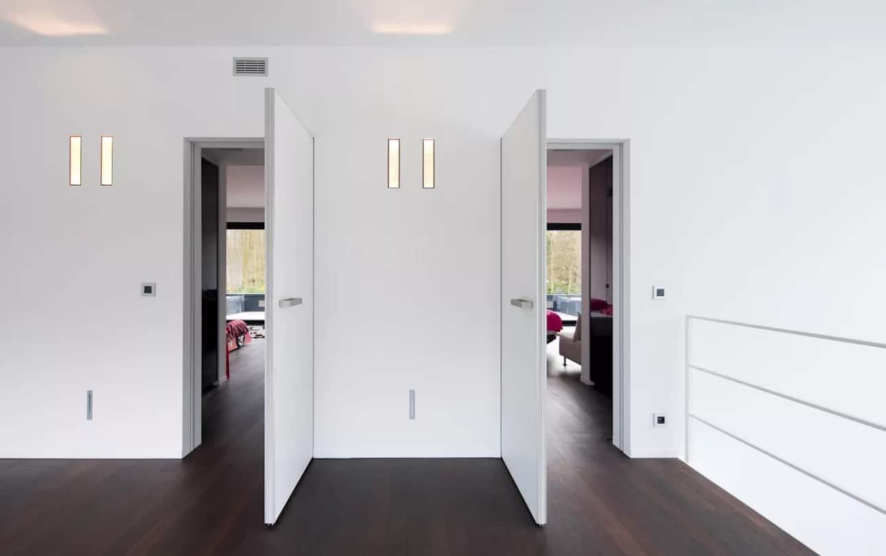 скрытое дверное полотно