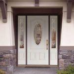 Парадные двери из стекловолокна