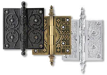 Петли для кованых дверей
