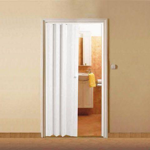 Пластиковая дверь для ванной комнаты