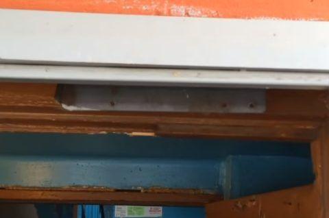 Пластина от гидравлического доводчика