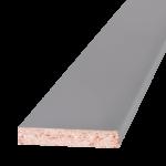 Плоский наличник дверной серый