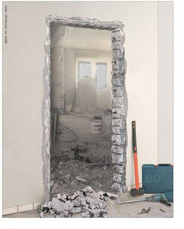 как установить двери входные