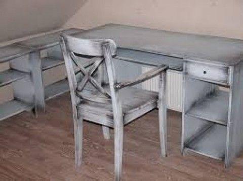 «Потертая» мебель