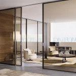 Применение стекла для изготовления дверей