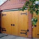 Пример оформления гаража с отдельным входом