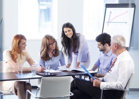 Проведение переговоров в офисе