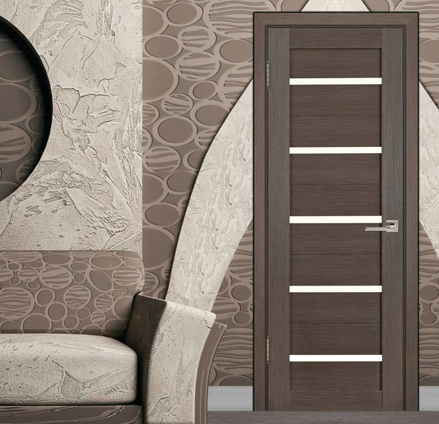 Рамочная дверь с царговым заполнением