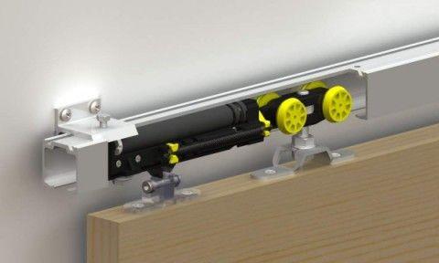Раздвижной механизм для навесной двери