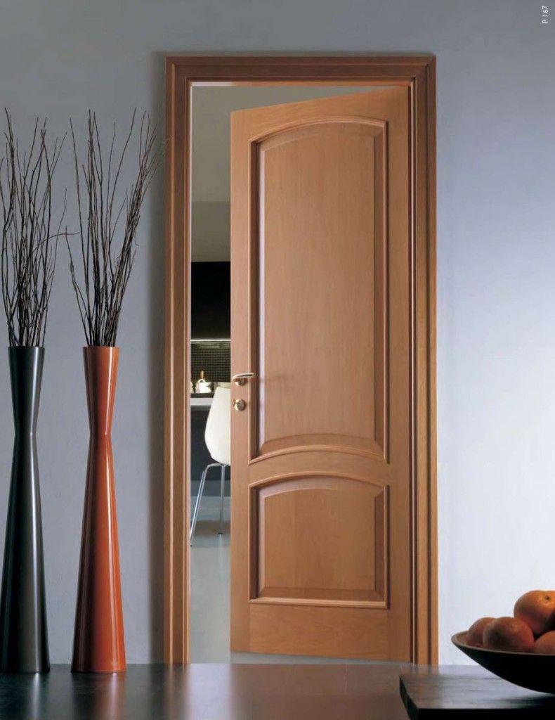 МДФ в отделке межкомнатной двери