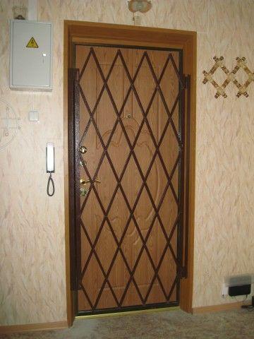 Раздвижные решетчатые двери