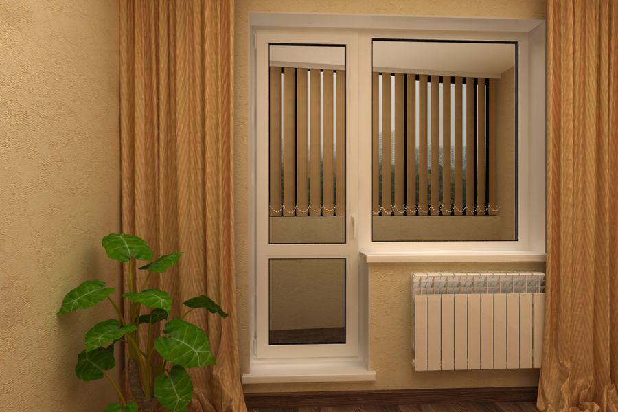 Ширина балконной двери