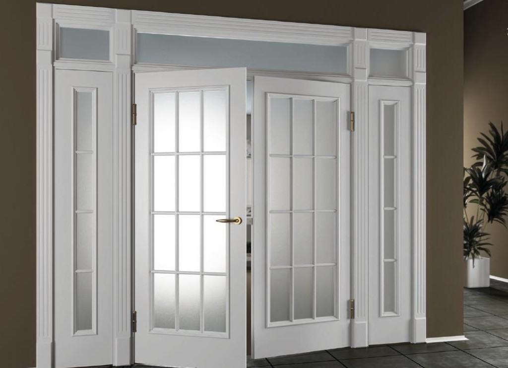 Разновидность каркасно-рамной двупольной двери