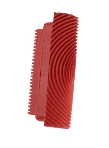 Рельефный резиновый шпатель для формирования текстуры