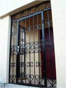 Решетка распашная на двери