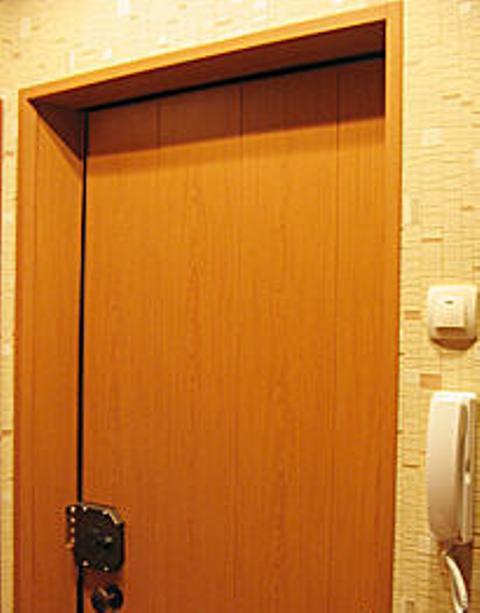 Дверь, облицованная МДФ-панелями