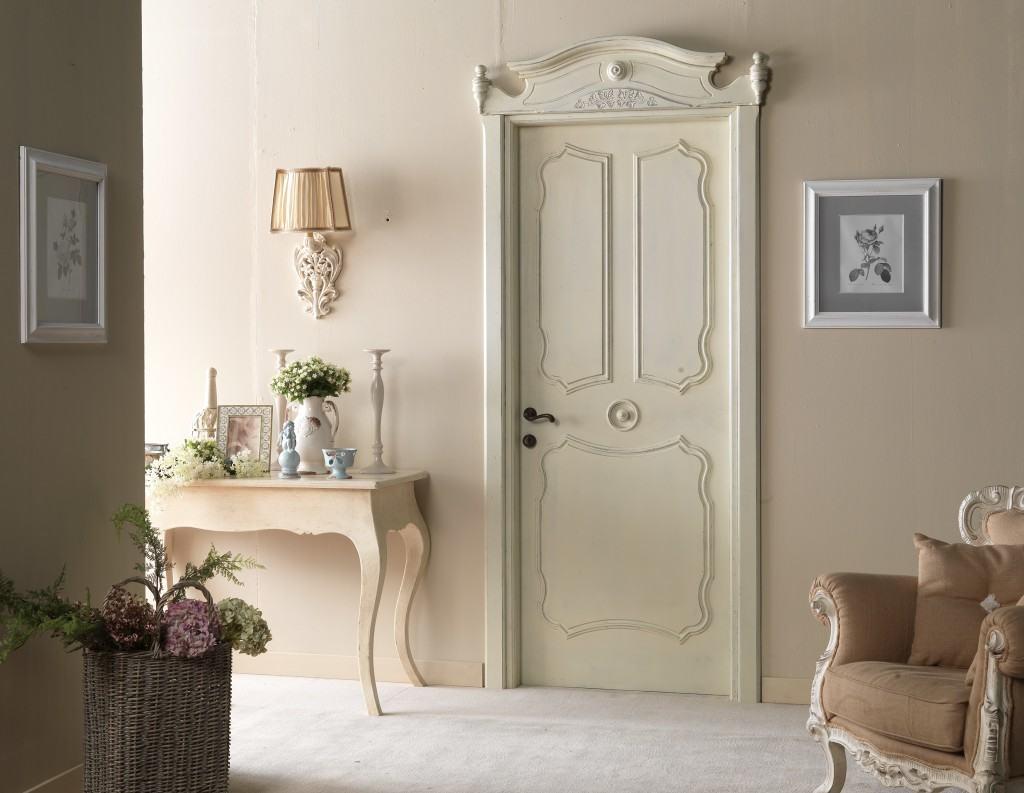 Реставрация старой двери для интерьера в стиле Прованс