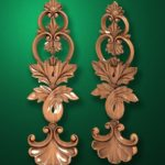 Резные деревянные украшения