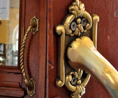 Ручки дверные скобы из Европы, которым более 100 лет