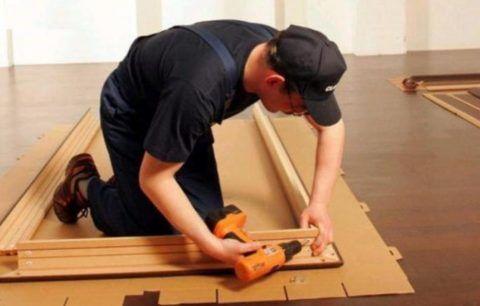 Сборка дверной коробки — это ответственная, но не очень сложная операция