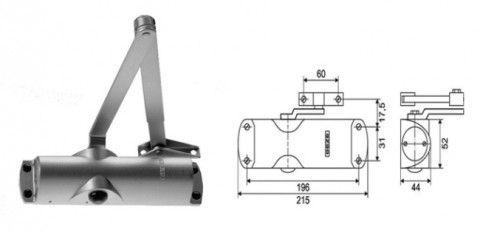 Схема монтажа механизма