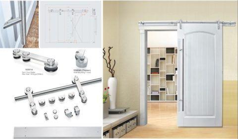 Схема установки подвесной двери
