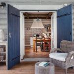 Скандинавский дизайн – и снова амбарные двери