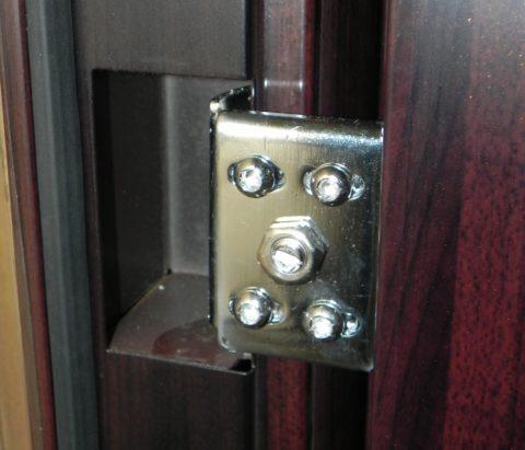 Скрытые дверные петли недорогой двери