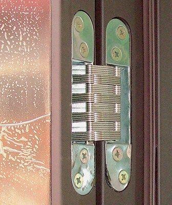 скрытые петли для металлических дверей