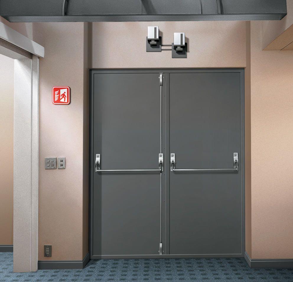 СНиП: двери противопожарные