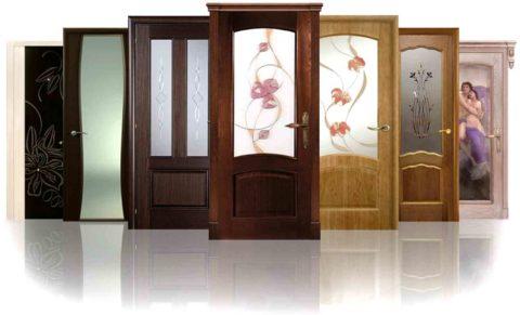 Современные двери представлены в широчайшем ассортименте