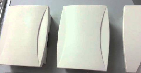 Современные электромеханические дверные электрические звонки имеют привлекательный дизайн