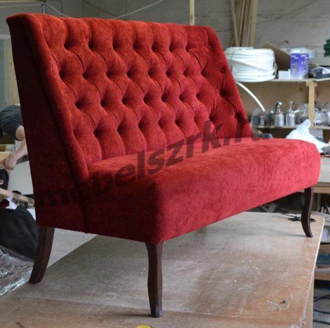 Стильный диван для современного кафе