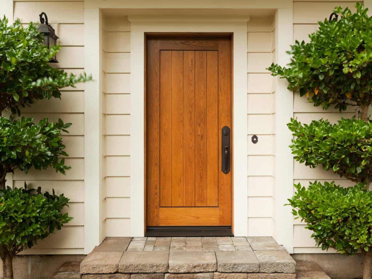 рассказывает, откуда смотреть фото дверь в деревянный красивый дом вкусный, внутри