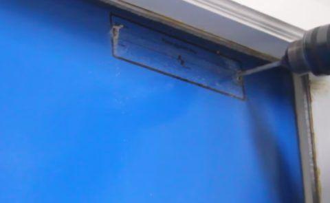 Сверление дверного полотна
