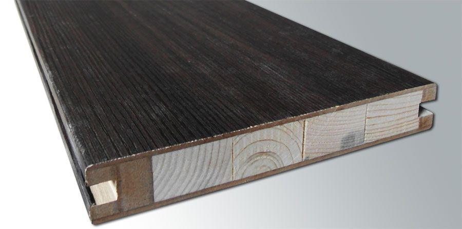 Царга, изготовленная из срощенных брусков и покрытая экошпоном