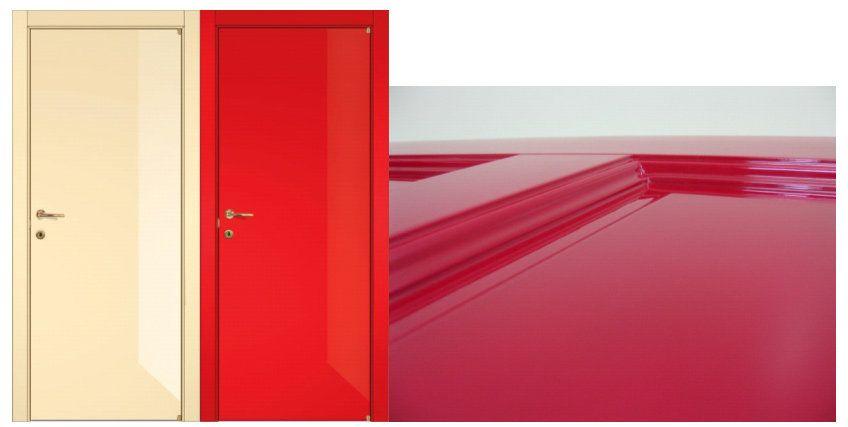 Сочетание цветов двери и пола