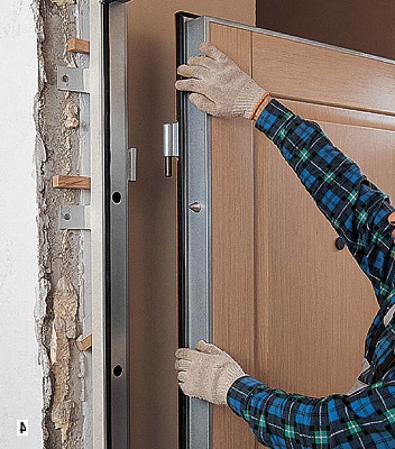 установить стальные двери