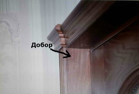 Установка добора в проеме двери