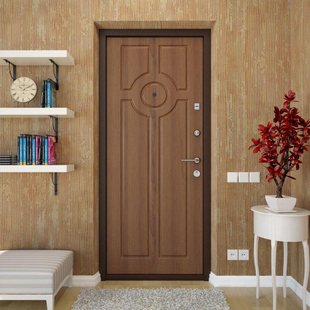 Установка дверных полотен МДФ с накладкой